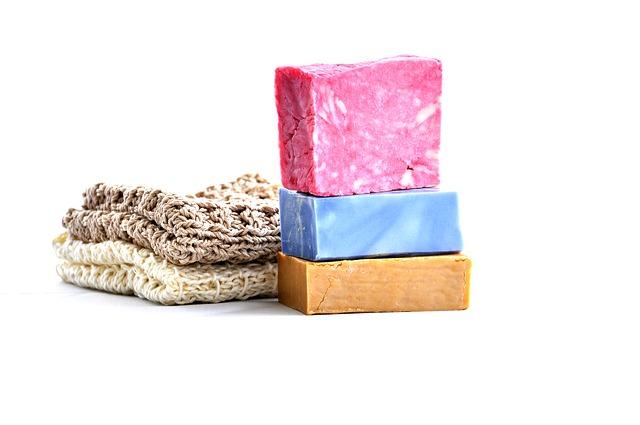 tři kostky mýdla