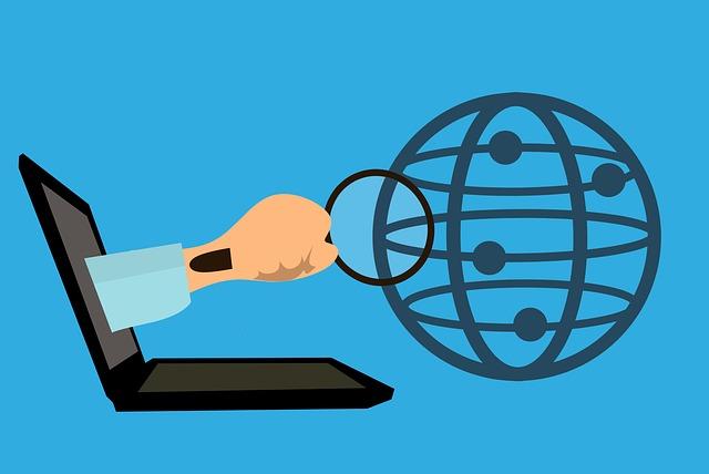 průzkum světa přes internet