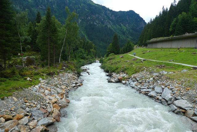 příroda v Rakousku