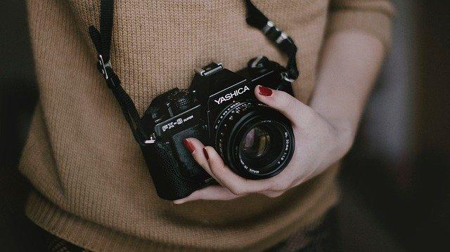 analogový fotoaparát